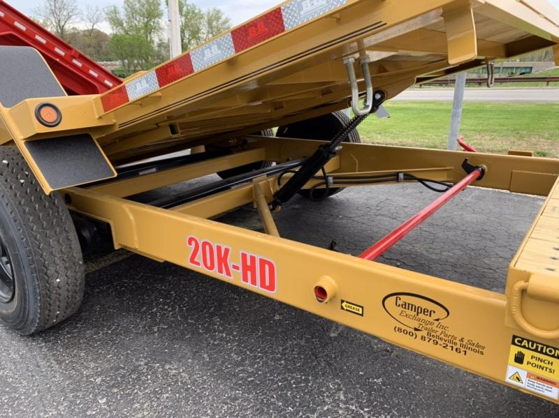 2020 B-B Tilt Equipment Trailer