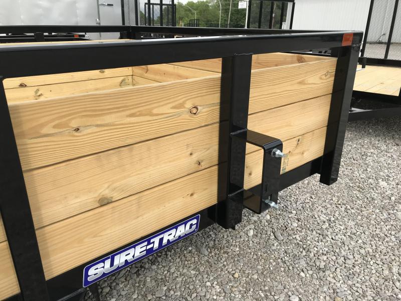 2020 Sure-Trac 6 X 10 Tube Top Three Board  3K Idler