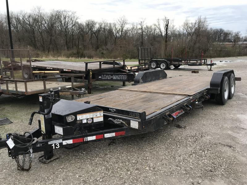 2017 Trailerman Trailers Inc. 83 X 22 Tilt Trailer Equipment Trailer