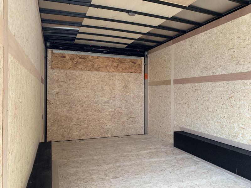 2020 Haulmark Transport V-Nose 8.5x20 Enclosed Cargo Trailer