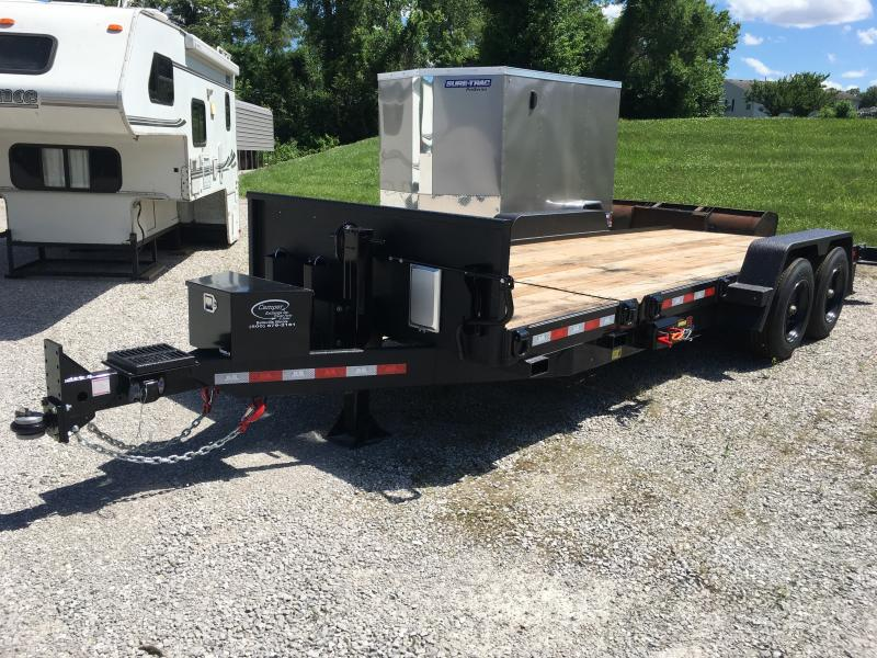2019 B-B 81 x 21 Equipment Trailer