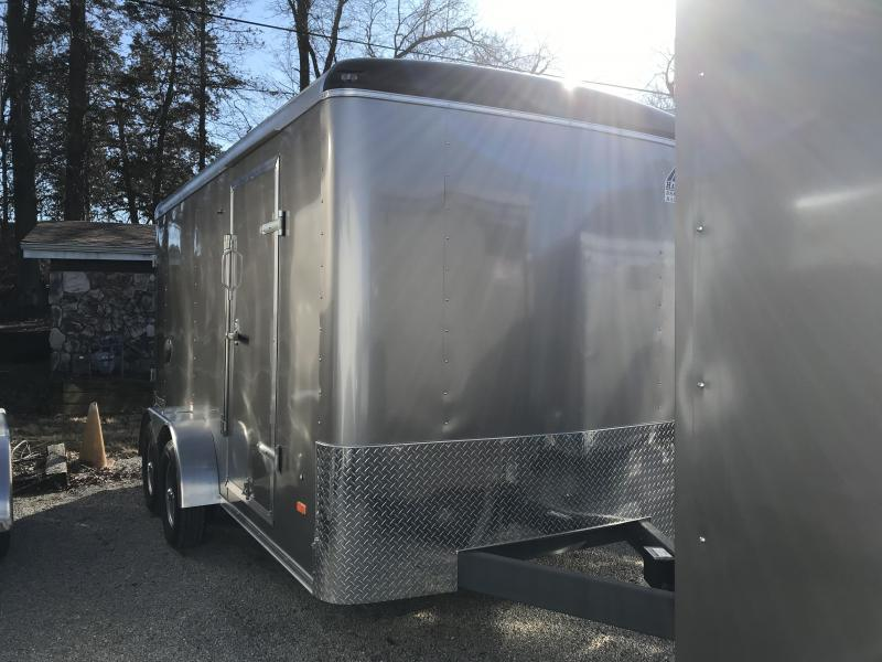 2020 Haul-About Leopard 7 x 14 Enclosed Cargo Trailer