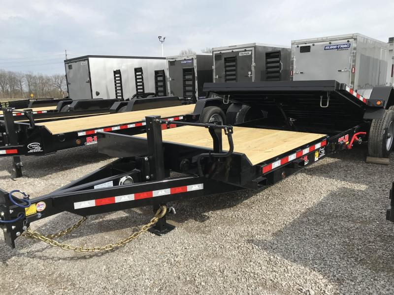 2020 B-B 83x22 Tilt Equipment Trailer