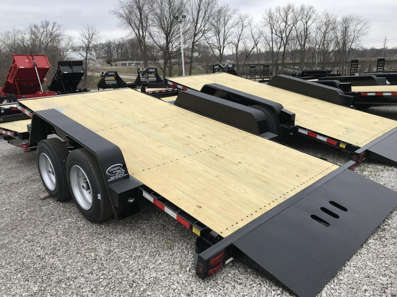 2020 B-B 83 x 22 Equipment Trailer