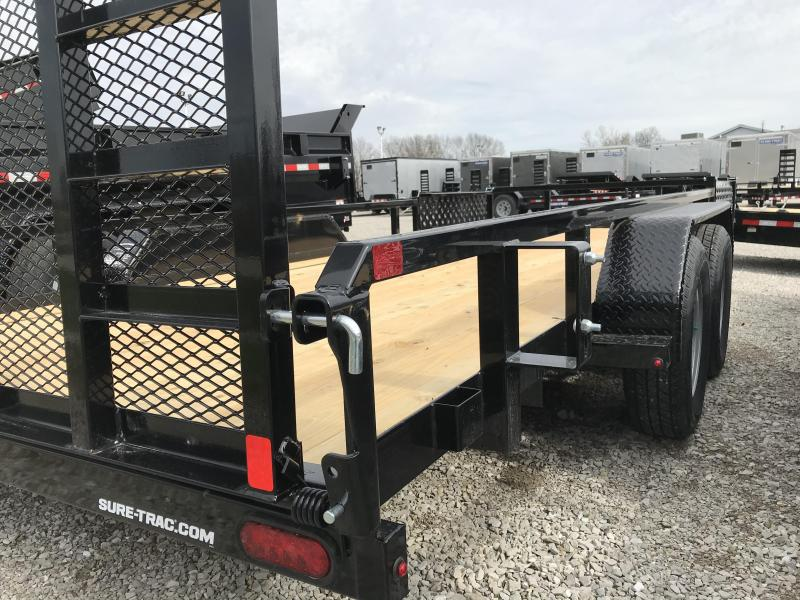 2020 Sure-Trac 7 X 18 Tube Top ATV  7K Tandem