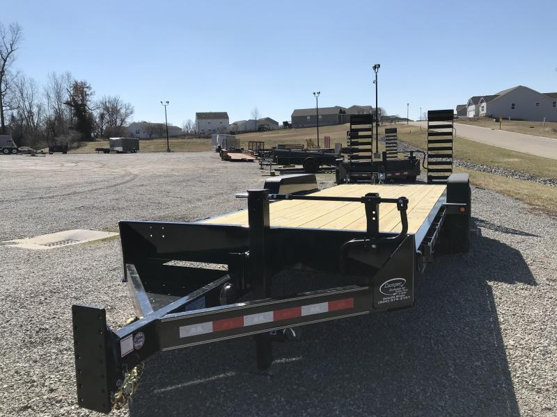 2020 Behnke Skidloader 20+2 Equipment Trailer