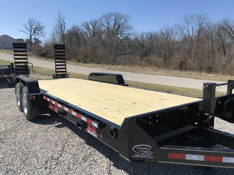 2020 Behnke Skidloader 20+2 Equipment Trailer