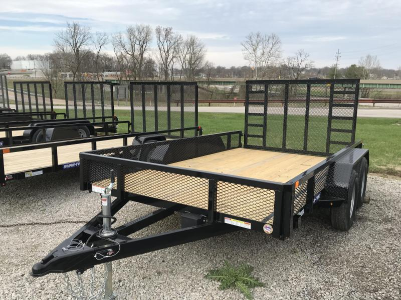 2020 Sure-Trac 7 X 12 Tube Top Utility  7K Tandem