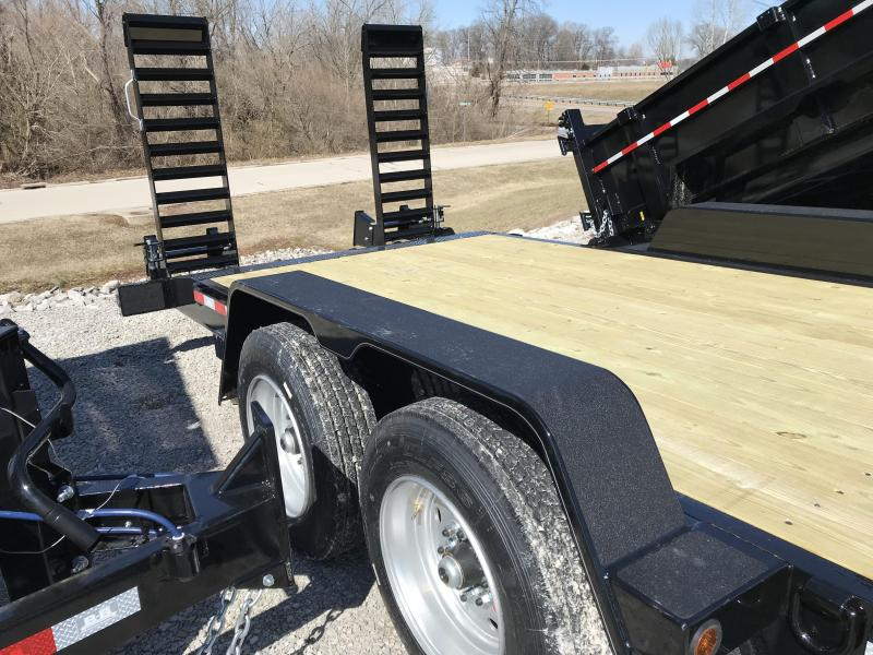 2020 B-B 83X22 Skidloader Equipment Trailer
