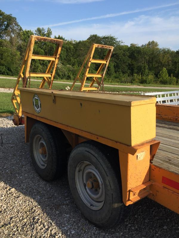 2000 Belshe GT-2 Equipment Trailer