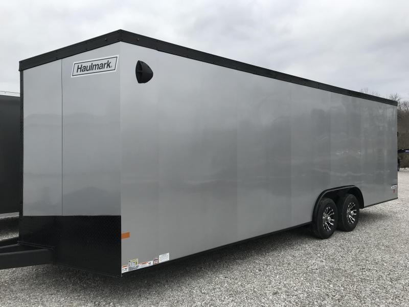 2020 Haulmark Transport V-Nose 8.5 x 24 Enclosed Cargo Trailer