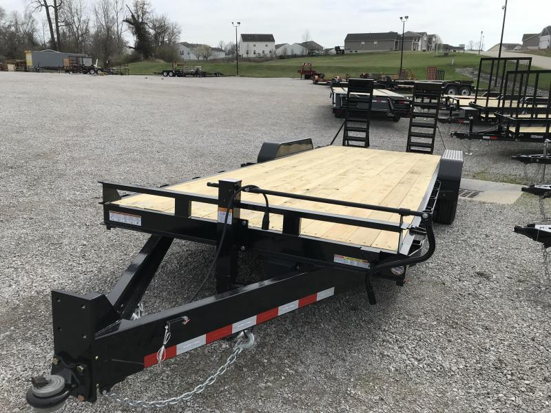 2020 Sure-Trac 7 x 22 Equipment Trailer  16k
