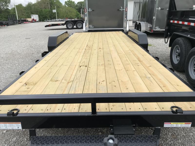 2020 Sure-Trac 7 X 22 Wood Deck Car Hauler  10k