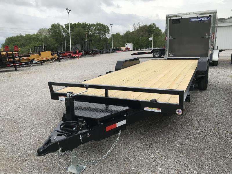 2020 Sure-Trac 7 X 22 Wood Deck Car Hauler  10k