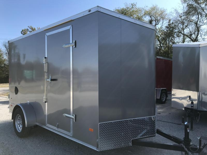 2020 Haul-About Cougar 6 x 12 Enclosed Cargo Trailer