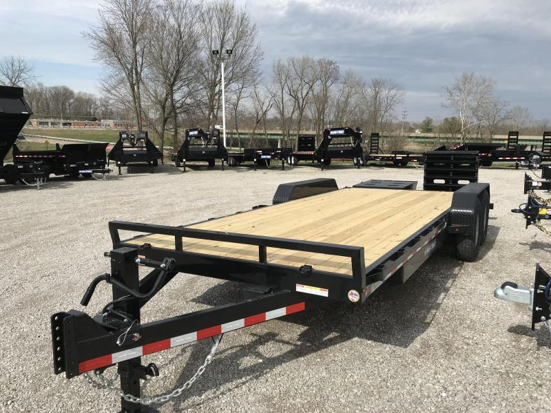 2020 Sure-Trac 7 x 17+3 Equipment HD Univ Ramp  14K