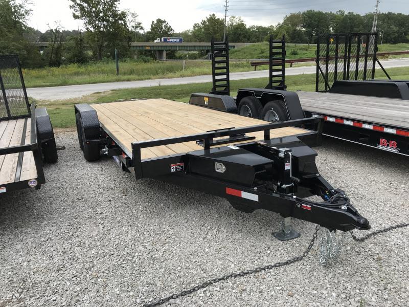 2019 Sure-Trac 7 X 20 Flatbed Tilt Trailer