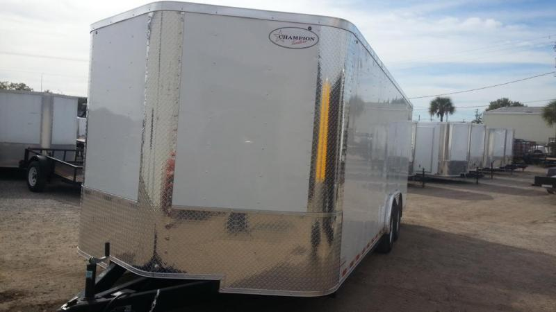 8.5x20x6'6 Black Arising Enclosed Trailer Cargo Car