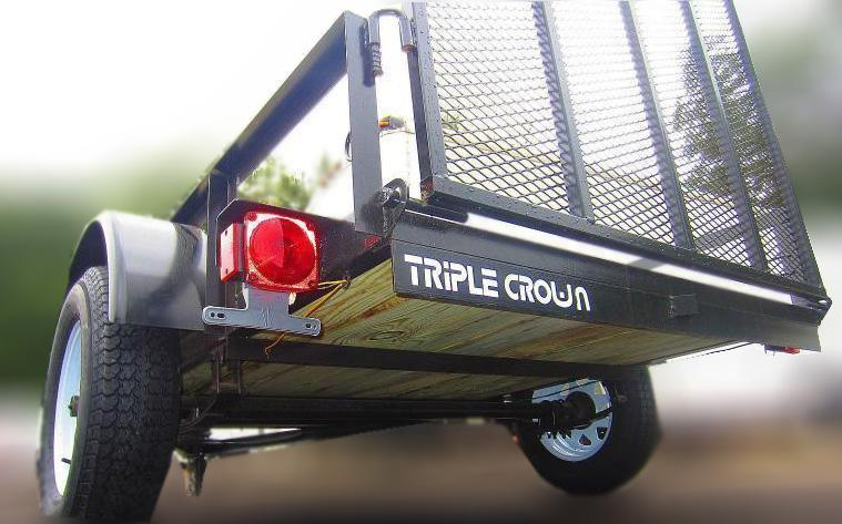 2020 Triple Crown Trailers 6'4x10 Utility Utility Trailer Landscape