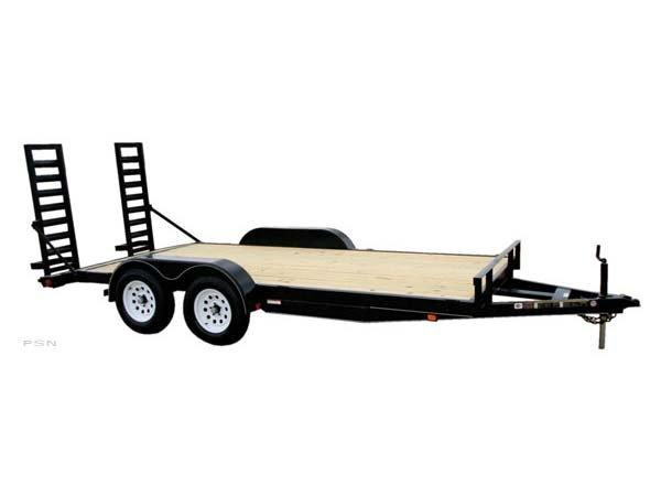 Carry-On 7X16 - 7K GVWR - All Purpose Dovetail Utility Trailer