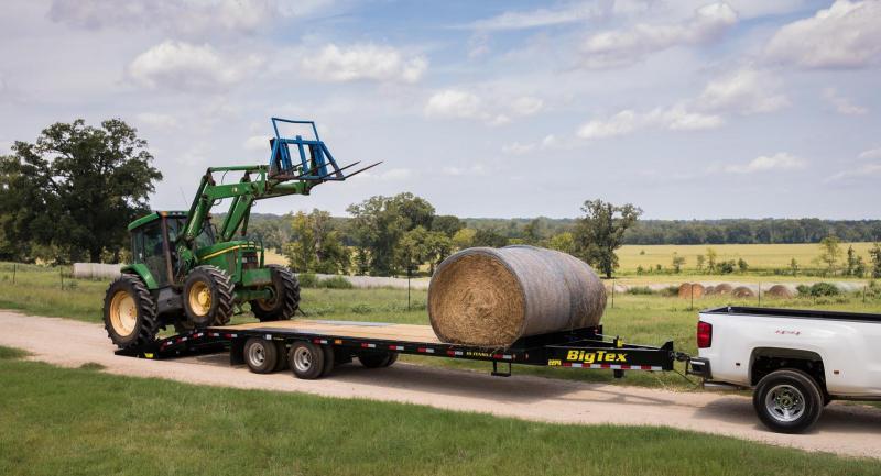 2020 Big Tex Trailers 22PH-20+5MR Pintle Equipment Trailer