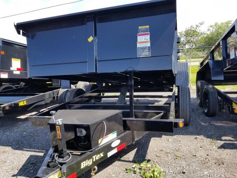 "10SR-83""x12 Big Tex Tandem Axle Single Ram Dump"