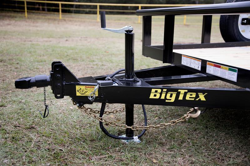 Big Tex 70PI-14' Trailers Utility Pipe Top Lanscape  Lawncare