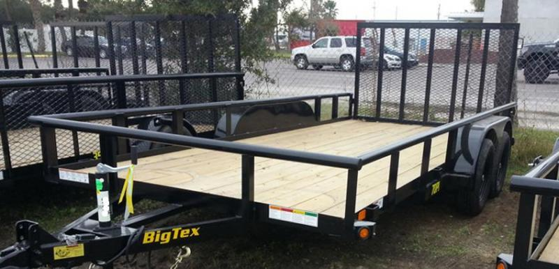 Big Tex 70PI-14' Trailers Utility Pipe Top Lanscape
