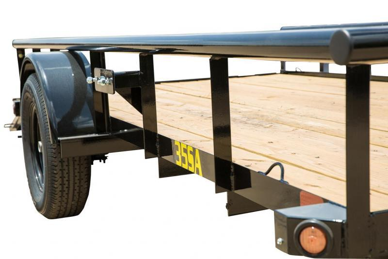 Big Tex 77x10' Utility Trailer