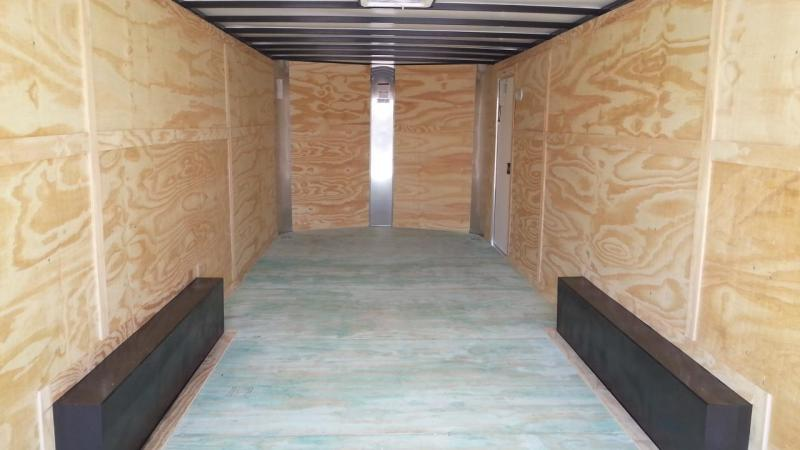 8.5x16x6'6 Arising Enclosed Trailer Crago Carhuler