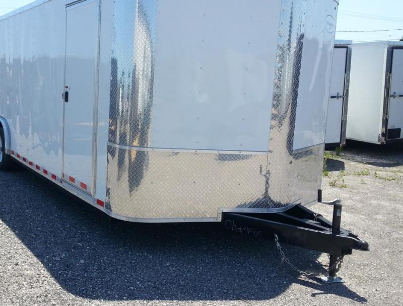 8.5x20x6'6 Arising Enclosed Trailer Cargo Car