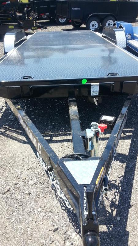 "Diamond C Trailers CHT 18'x83"" Custom Car / Racing Trailer Custom Tilt"