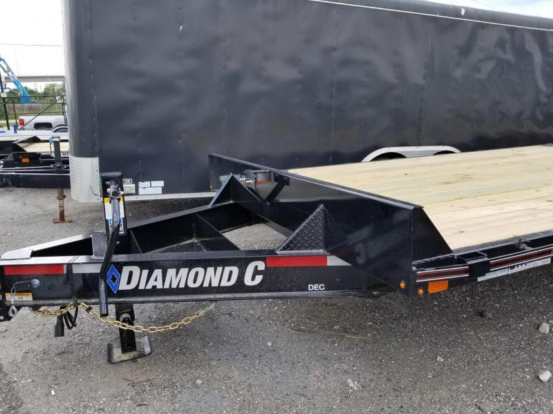 "Diamond C Trailers DEC207 20'x102"" Deckover Equipment Trailer"