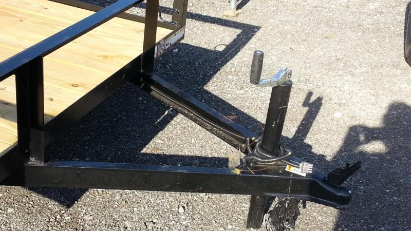 Triple Crown Trailers 5x8 Utility Trailer 4'ramp