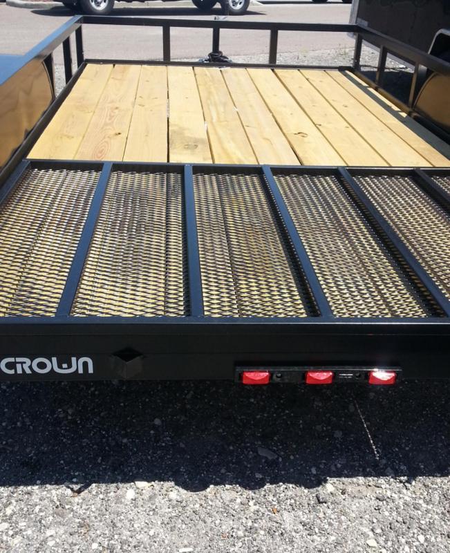 2019 Triple Crown Trailers 6'4x16 Utility Trailer