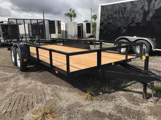 2019 Triple Crown Trailers 6'4x16 Utility Trailer