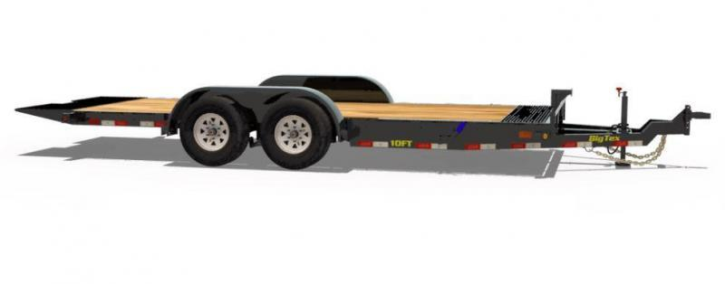 Big Tex Trailers 10FT-16 Equipment Trailer Full Tilt Trailer
