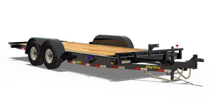 Big Tex Trailers 10FT-16 Equipment Trailer Full Tilt Trailer