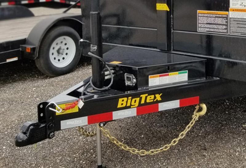Big Tex 83 x 14 Dump Trailer Hydraulic Jack with 4' Sides with Ramps