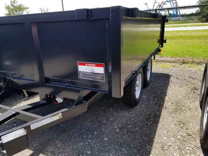 2020 Triple Crown Trailers 6 X 10 Deckover Dump Trailer