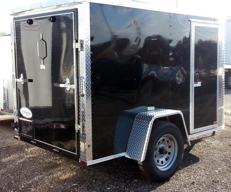 2020 Arising 5x8x5SA Enclosed Cargo Trailer No Side Door