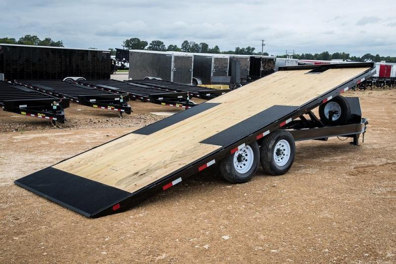 "2020 Big Tex Trailers 14OT-24"" Over the Axle Tilt Equipment Trailer"