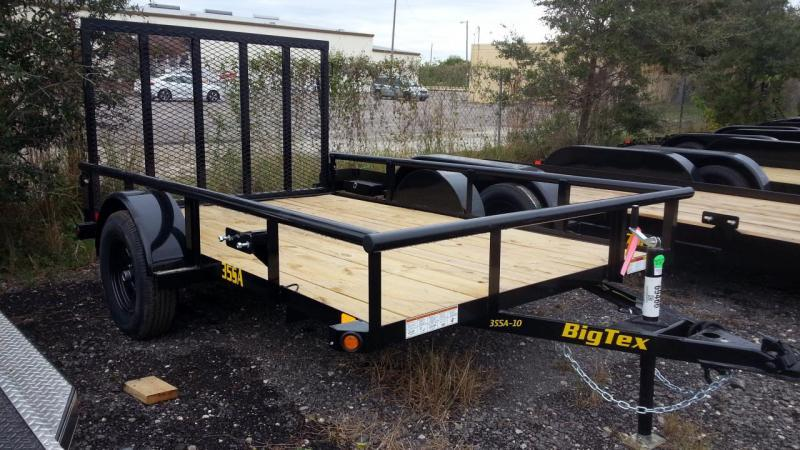 "Big Tex 77""x10' Utility Trailer Landscape"