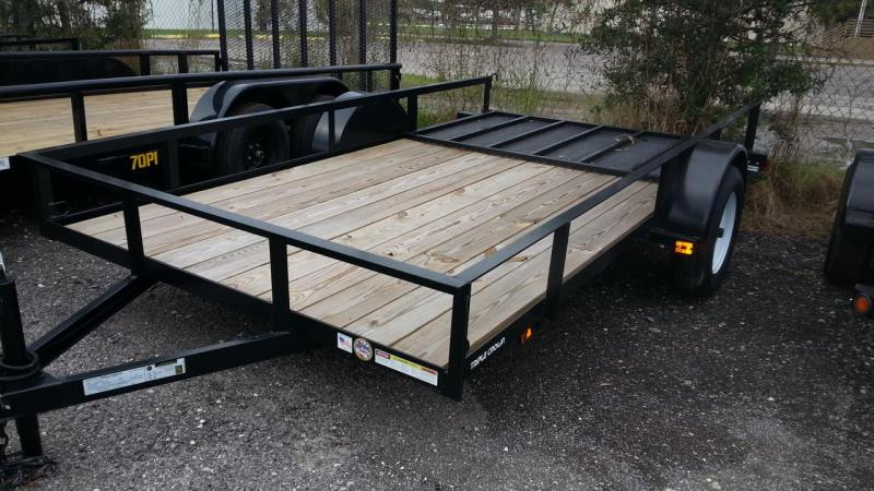 2019 Triple Crown Trailers 6'4x12 Utility Trailer