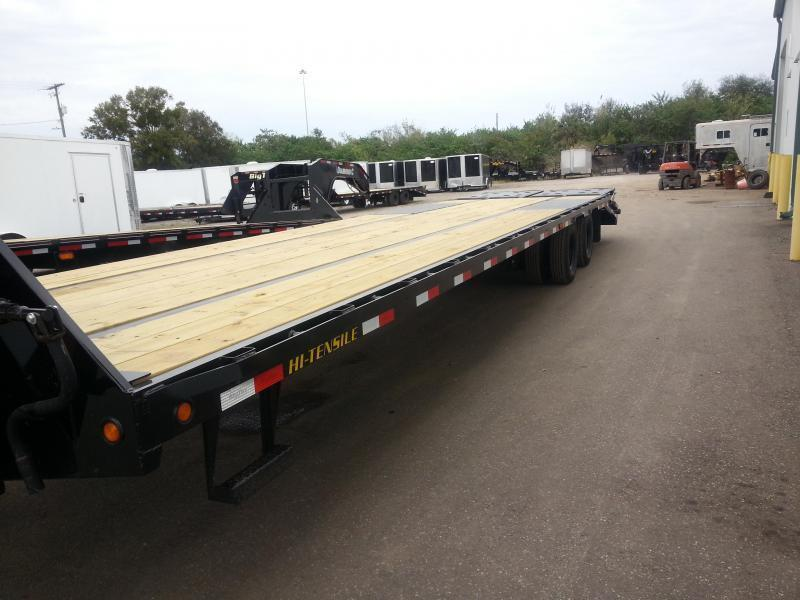 2021 Big Tex 22GN 35'+5' Gooseneck Tandem Dual Equipment Hauler Trailer 40' Gooseneck Trailer