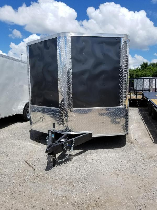 2019 Arising 8.5 x 16 x 6'6' ATP Wrap Charcaol Gray Enclosed Cargo Trailer