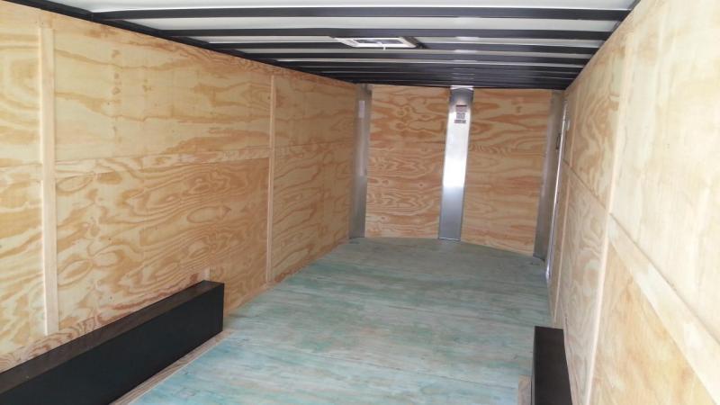 2019 Arising 8.5 x 16 x 6'6' ATP Wrap Charcaol Gray Enclosed Cargo Trailer