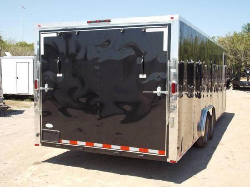 Arising 8.5x24x6'6 Enclosed Cargo Carhauler motorcycle