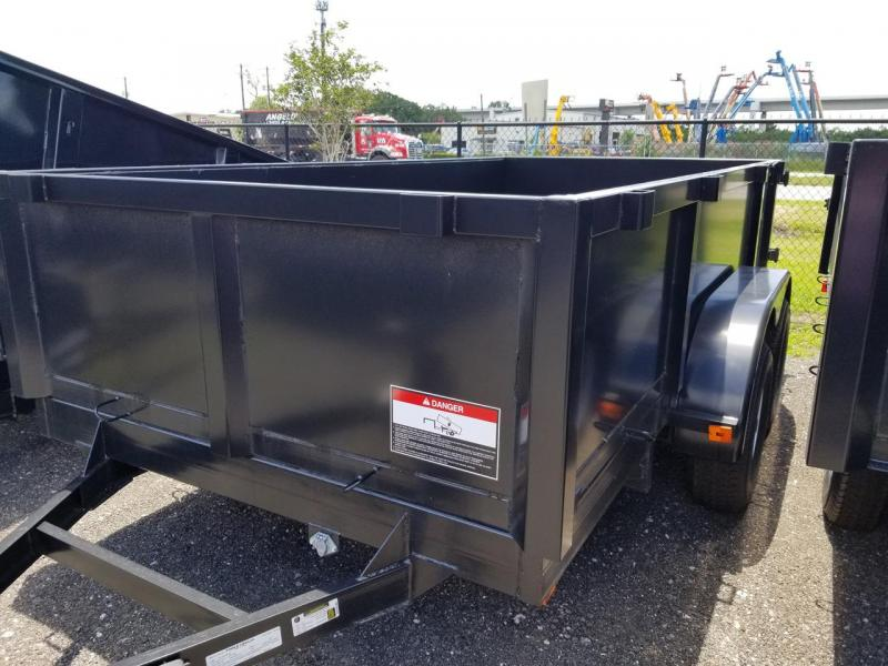 2020 Triple Crown Trailers 6x10 LRD Dump Trailer
