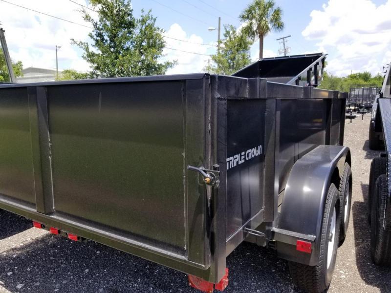 2020 Triple Crown Trailers 6x10 LRD Dump Trailer Landscape Hauling